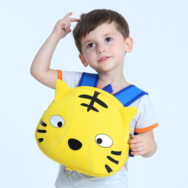 Tiger Waterproof School Bag