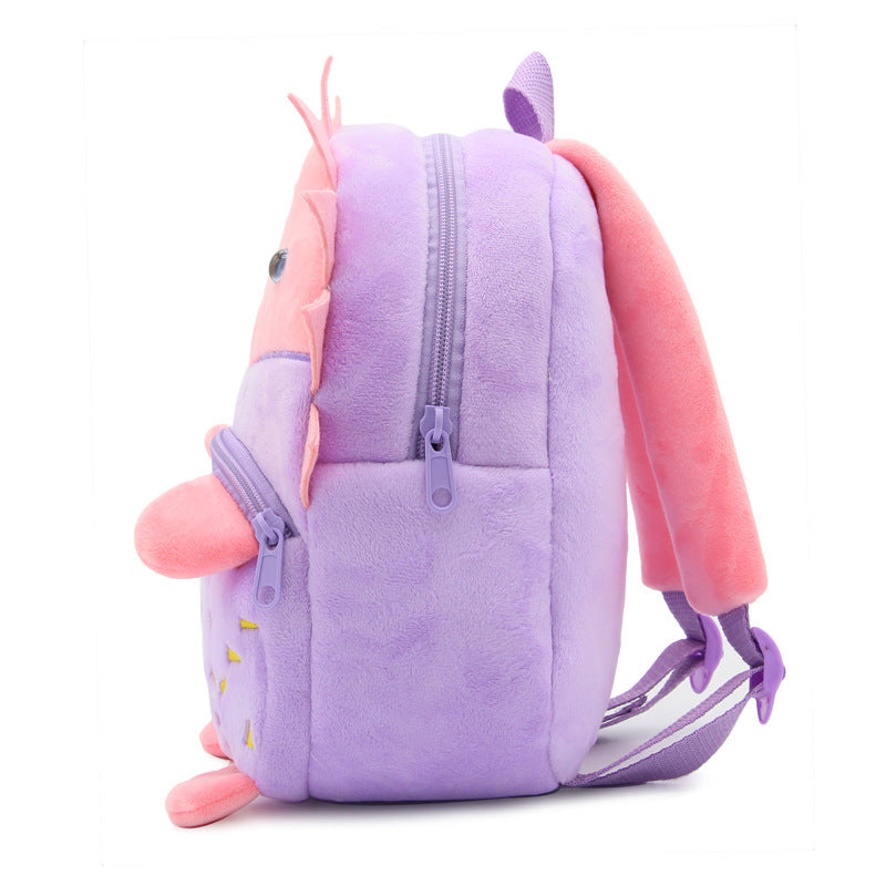 Cartoon Hedgehog School Bag
