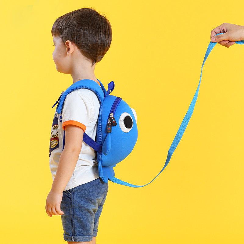 Octopus Waterproof School Bag