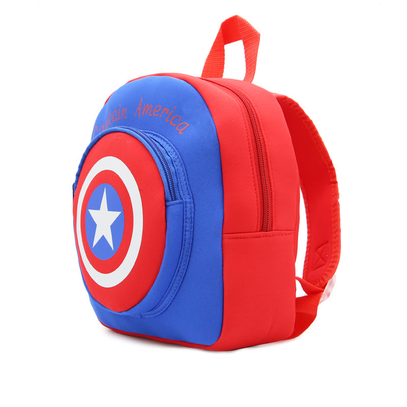 Captain America School Bag