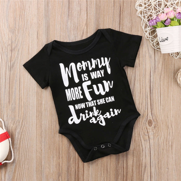 Mommy Can Drink Again Onesie