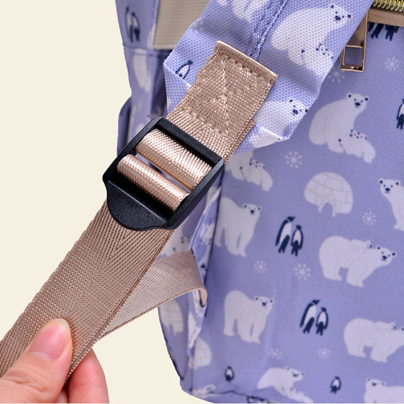 Waterproof Printed Nappy Bags