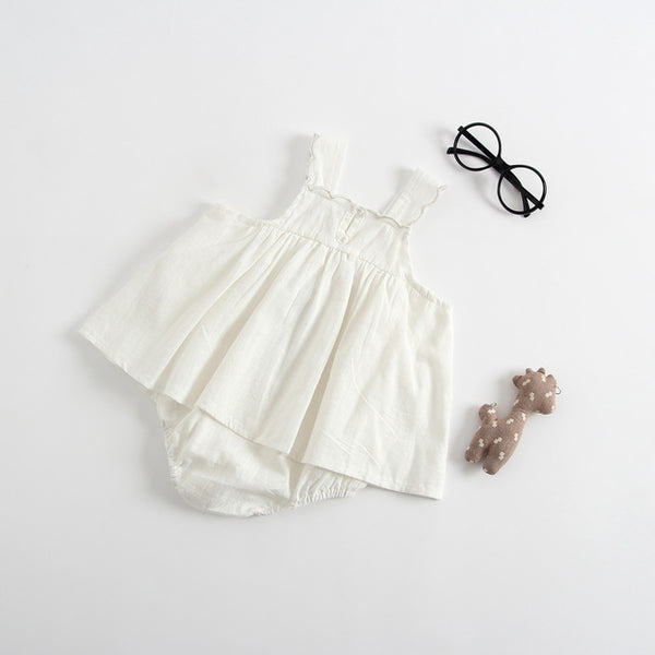 Baby Girl Cotton Rompers