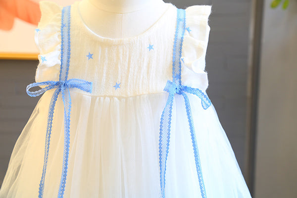 Sleeves Bow Knot Princess Dress