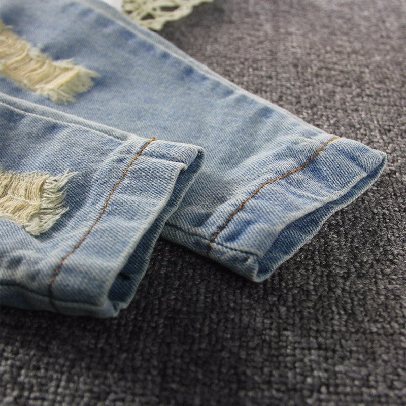 Rugged Blue Denim