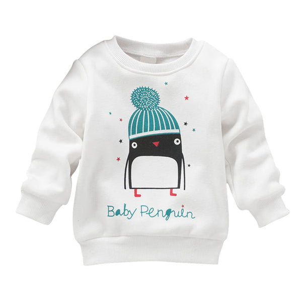 Penguin Pullover - Baby Monk