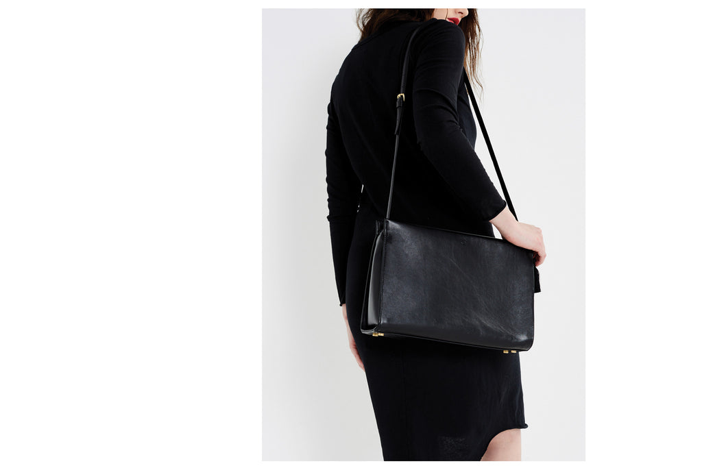 Keevil box bag black