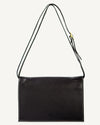 MULTI POUCH, BLACK PEBBLE GRAIN LEATHER