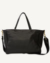SIMPLE TOTE, BLACK