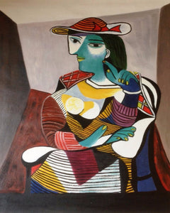 Seated Woman (Marie-Therese), Picasso.