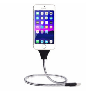 Twister Iphone and Android Charger Dock Cable & Tripod - Jobbershot Shop