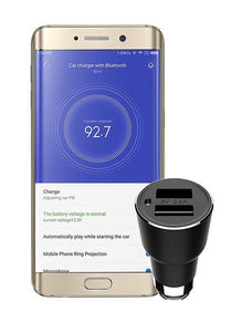Smart Car Charger for Iphone and Android (Bluetooth Device) - Jobbershot Shop
