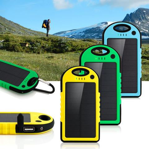 SOLAR WATERPROOF POWER BANK