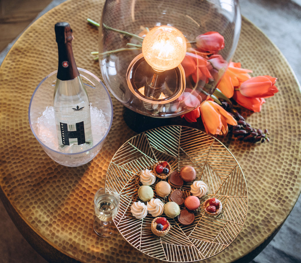 Hempfy champagne Sparkling H, best mix of cannabis and Chasselas wine