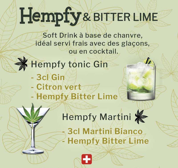 Hempfy fresh raw cannabis cocktails mix