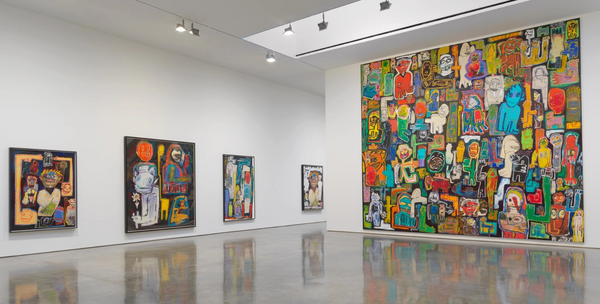 "artist Richard Prince  Gagosian Gallery in San Francisco, ""High Times"""