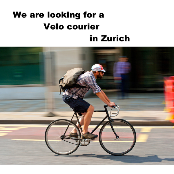 Bike courier in Zurich Hempfy
