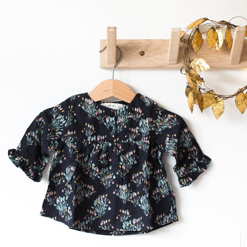 BLOUSE FLEURIE Play Up - Booboo Pirates