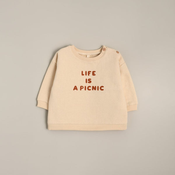 SWEATSHIRT LIFE IS A PICNIC