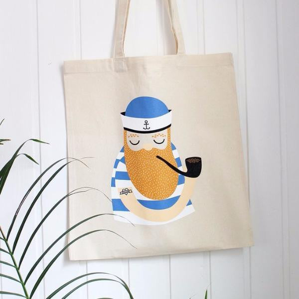 TOTE BAG LITTLE SAILOR Michelle Carlslund - Booboo Pirates