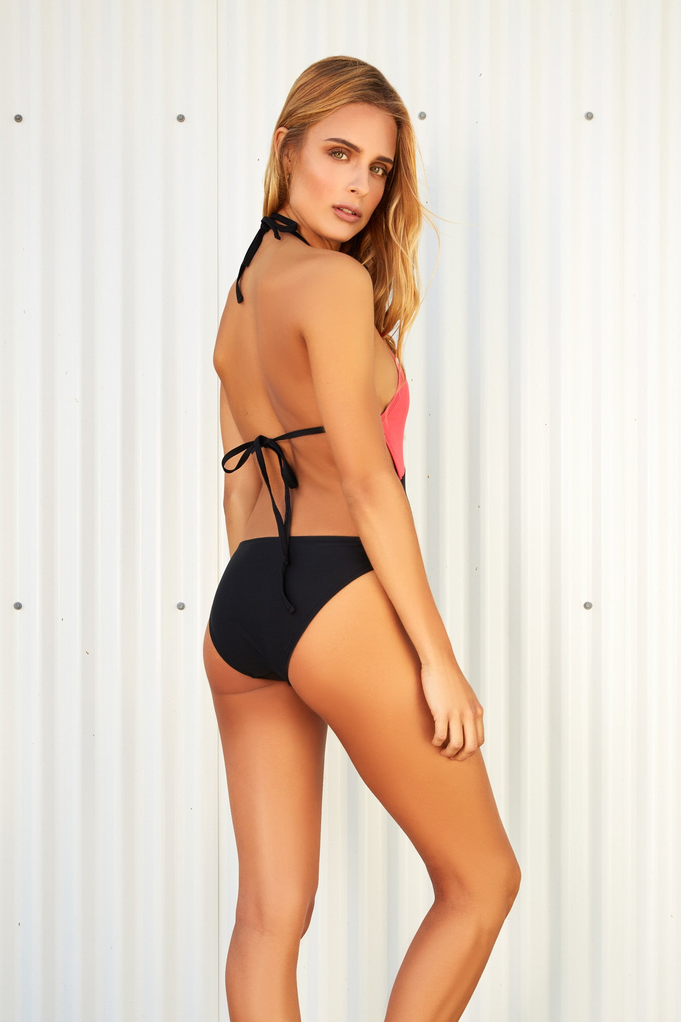 ELIZABETH BLACK & NECTARINE ONE PIECE