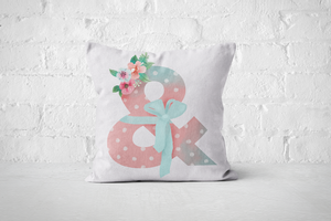 Pretty Letters Pillow Cover - & - But Why Not
