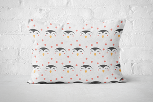 Smiley Critters Pattern 12 | Pillow Rectangle - But Why Not