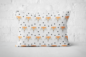 Smiley Critters Pattern 17 | Pillow Rectangle - But Why Not