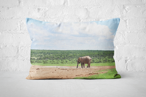 African Wildlife 11 | Pillow Rectangle - But Why Not