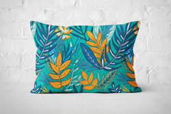 Urban Jungle 12 - Pillow Rectangle - But Why Not