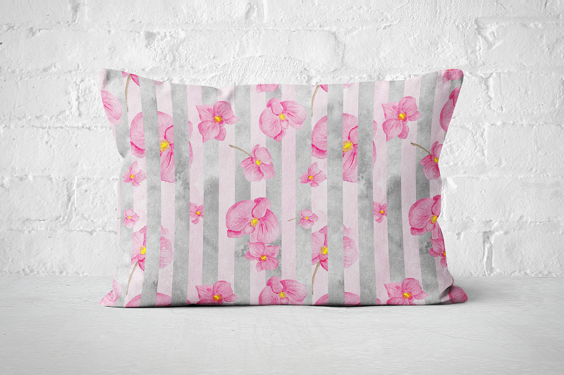 Blossom Stripes | Pillow - But Why Not