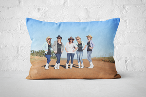 A3 Rectangle Pillow - Custom - But Why Not