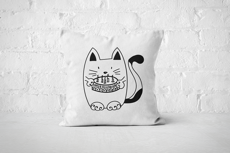 Birthday Cat | Pillow - Square - But Why Not