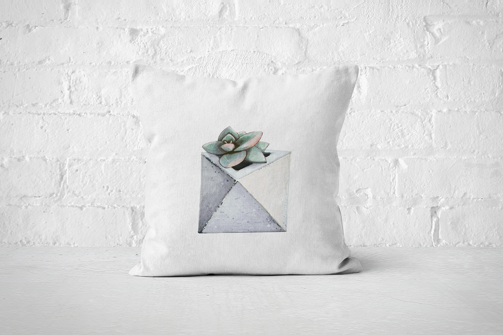 Cacti Party 16 | Pillow Cover - But Why Not