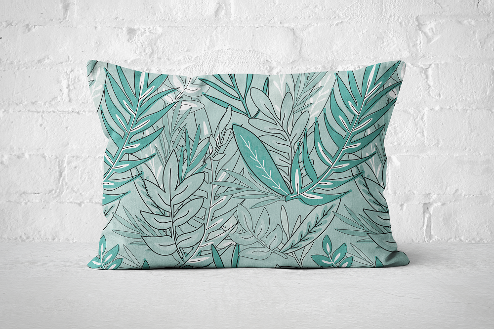 Urban Jungle 17 - Pillow Rectangle - But Why Not
