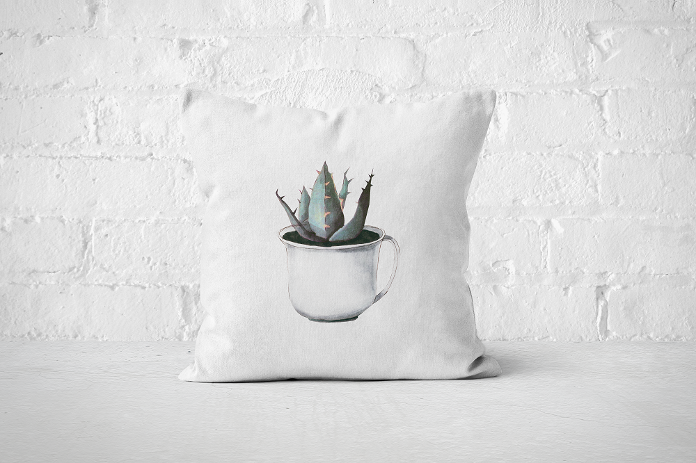 Cacti Party 17 | Pillow Cover - But Why Not