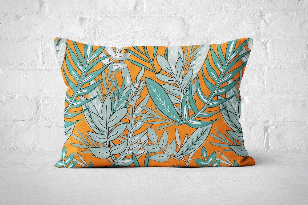 Urban Jungle 18 - Pillow Rectangle - But Why Not
