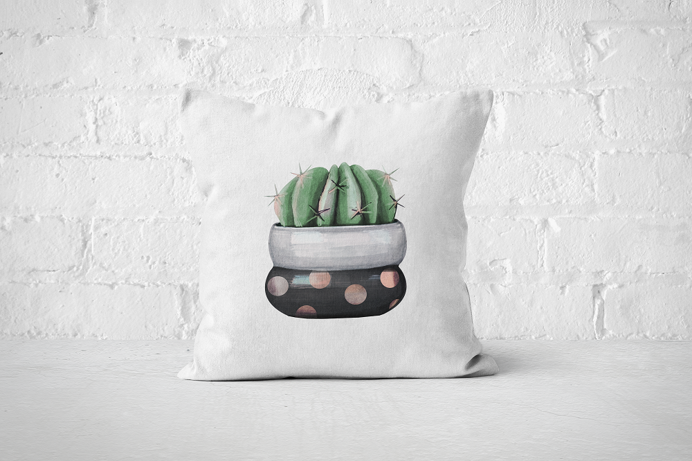 Cacti Party 18 | Pillow Cover - But Why Not
