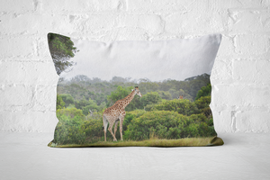 African Wildlife 19 | Pillow Rectangle - But Why Not