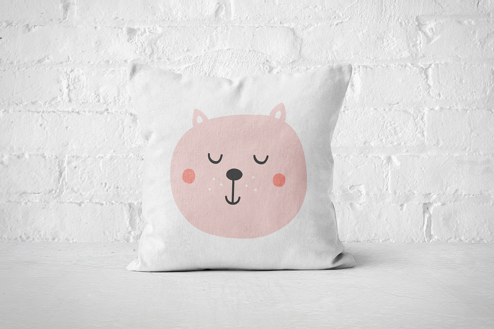 Smiley Critter 1 | Pillow Square - But Why Not