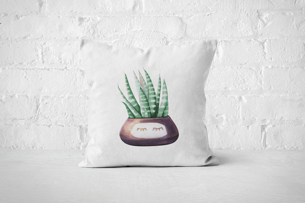 Cacti Party 1 | Pillow Cover - But Why Not