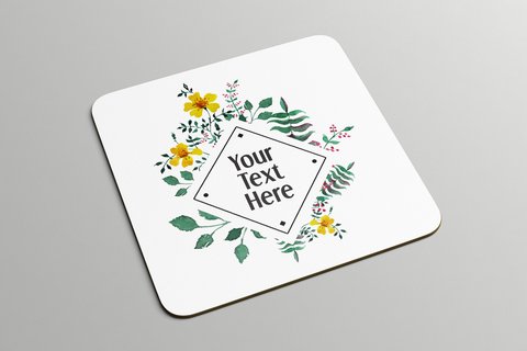Diamond Floral Frame | Coasters - But Why Not