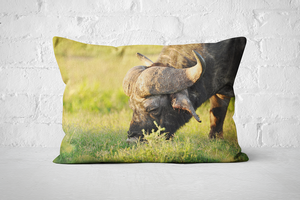 African Wildlife 24 | Pillow Rectangle - But Why Not