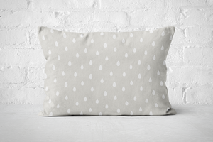 Smiley Critters Raindrops | Pillow Rectangle - But Why Not