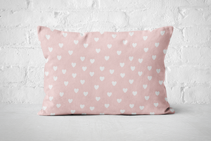 Smiley Critters Hearts | Pillow Rectangle - But Why Not