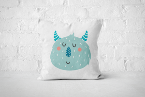 Smiley Critter 2 | Pillow Square - But Why Not