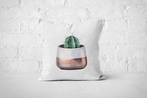 Cacti Party 2 | Pillow Cover - But Why Not