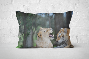 African Wildlife 30 | Pillow Rectangle - But Why Not