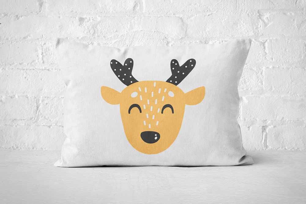 Smiley Critter 3 | Pillow Rectangle - But Why Not