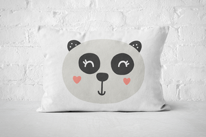 Smiley Critter 6 | Pillow Rectangle - But Why Not